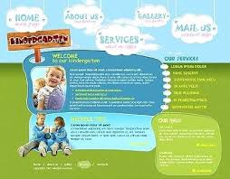 Kindergarten Website Templates Flash Template Download Free For ...