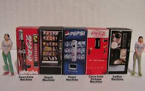 Toy Vending Machine Canada Awesome SET OF FIVE Vending Machines 4848 O Scale Miniature EBay
