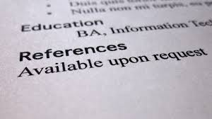references upon request on resume resume badak references available upon request