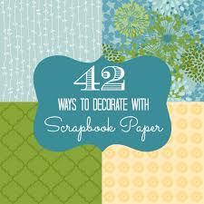image decorate. Decorate With Scrapbook Paper Image E