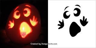 Cute Ghost Pumpkin Stencil | Halloween | Pinterest | Ghost pumpkin,  Stenciling and Pumpkin carving
