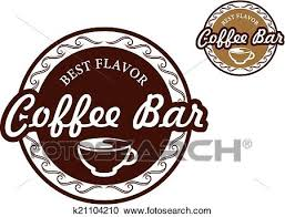 coffee bar clipart. Exellent Coffee Clipart  Coffee Bar Signs Fotosearch Search Clip Art Illustration  Murals Drawings Inside Bar U