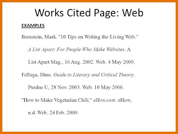 Examples Of Work Cited Elim Carpentersdaughter Co