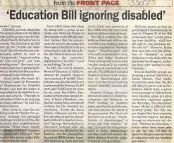 Diana V State Board Of Education Education National Centre For Promotion Of Employment For Disabled