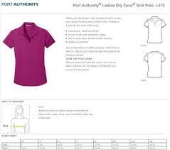 Port Authority Dry Zone Polos Customized