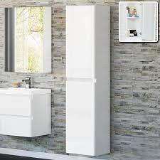 Bathroom Cabinets White Bathroom Cabinet Narrow Bathroom Wall