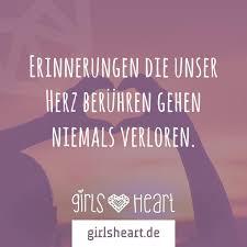 Erinnerungen Die Unser Herz Berühren Gehen Niemals Verloren Girlsheart
