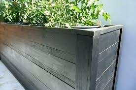 planter box designs modern rectangle stand terrarium design boxes grey color with diy wood bo