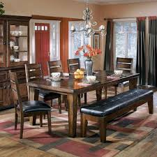 ashley furniture dining tables with bench