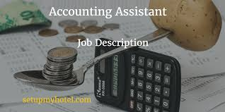 Accounting Assistant Job Description Best Hotel Accounting Assistant Finance Clerk Job Description