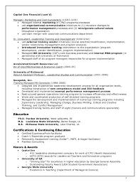 Resume Format For 2015 Gauthreaux 2015 Resume 2018 Resume Format Capital One Resume 13167
