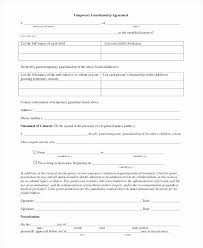 Notarized Letter Of Guardianship Temporary Custody Letter Template Inspirational Letter Of