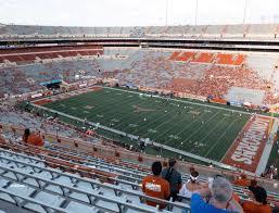 Darrell K Royal Texas Memorial Stadium Section 102 Seat