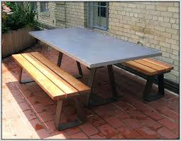diy concrete table top s diy round concrete table top diy lightweight concrete table top