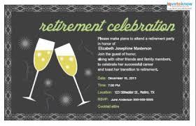 Retirement Celebration Invitation Template Retirement Party Invitations Lovetoknow
