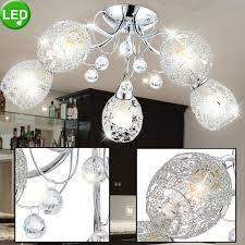 Led Decken Lampe Arbeits Zimmer Strahler Kristall Leuchte