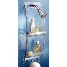 This Grand Arc Shower Caddy offers ...