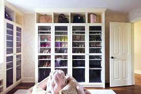 glass door shelves pink closet with glass door shoe and boot cabinets glass door rack