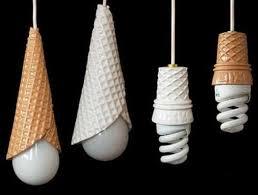 interesting lighting fixtures. Unique Lighting Design Ideas For Home Interiors And Outdoor Living Spaces,  Ice Cream Cone Pendant Lights Interesting Fixtures