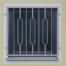Fenstergitter Modell Venedig2 Verzinkt
