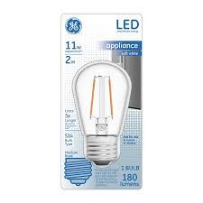 ge 11 watt eq 3 in soft white appliance light bulb