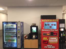 How To Break Into A Vending Machine For Food Simple Pizzametry Delivers MadetoOrder Pies From A Vending Machine The