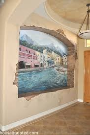 painting over a wall mural aka this gots to go house updated regarding murals paint plans 0