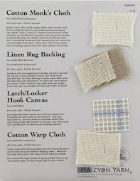 rug backing sample card jute latex rug backing