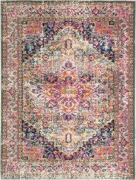 multicolor striped area rug multi color rugs s bright