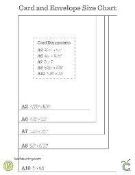Greeting Card Size Chart 5 Envelope Address Printing Template Fresh Print Word New