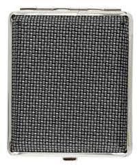 <b>Портсигар</b> (<b>черный с рисунком</b> плетение) от S. Quire купить на ...