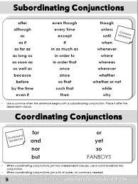 17 best Grammar - Conjunctions images on Pinterest | Languages ...