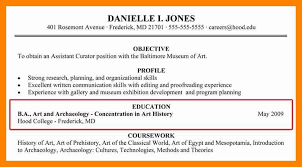 How Put A Minor On Resume Contemporary Gallery List Degree G How To