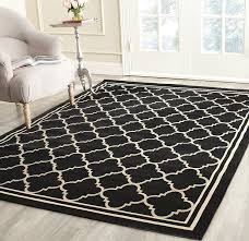 full size of square indoor outdoor rug inspirational safavieh courtyard collection black and of new photos