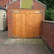 side hinged garage doors