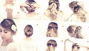 44 Best Of Collection Of Chignon Facile Cheveux Mi Long A