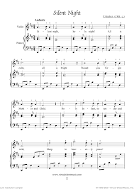 These sheet music are mostly traditional celtic music, but some are world music, classical music, or popular music. Free Silent Night Sheet Music For Violin And Piano High Quality