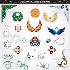 Decorative Design Inspiration Collection Of Decorative Design Elements 32 By Infografx GraphicRiver