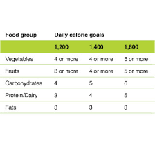 weightloss group slide show portion control for weight loss food groups healthy