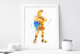 hercules disney print nursery hercules poster wall art printable art kids wall decor artwork on wall decor prints with hercules poster disney wall art watercolor print