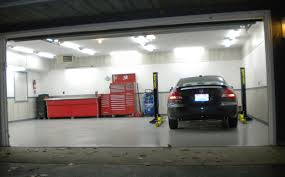 garage inside let s see your cool garage pictures porcelain signs posters