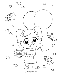 You can find birthday party. Birthday Coloring Pages For Kids