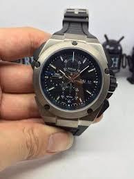 iwc ingenieur iw376501 chronograph automatic men watches black iwc ingenieur iw376501 chronograph automatic men watches black rubber strap
