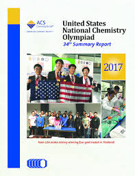 chemistry olympiad american chemical society summary report