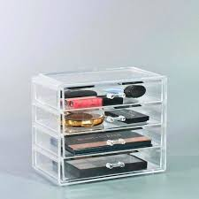 clearly chic makeup organizer ulta small clear case 4 drawers beauty resize