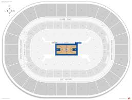 Oklahoma City Thunder Arena Seating Chart Oklahoma City Thunder Seating Guide Chesapeake Energy