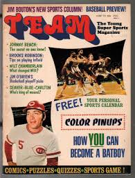 Team #1 6/1973-1st issue-Johnny Bench-Hank Aaron-Tom Seaver-pix-info-VG:  (1973) Magazine/Periodical | DTA Collectibles