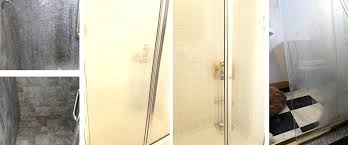 bar keepers friend shower door before and after cleaning glass shower door can you use bar