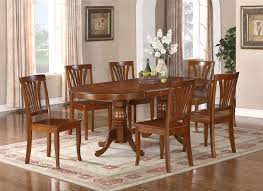 oval dining table pedestal base. Image Of: Oval Dining Table Pedestal Base Industrial