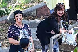 Demi Lovato and Valerie Bertinelli ...